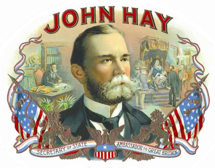 John Hay served as Secretary of State from 1898-1905 during the terms of presidents McKinley and Roosevelt. In that position he supported the \