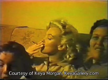 marilyn monroe smoking pot?